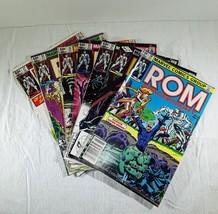 7 ROM Comic Books 1982 28 29 30 32 33 36 37 Marvel - $25.00