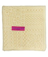 Southampton Home Lace Weave Baby Shawl Yellow - $49.14