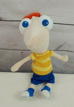 "Phineas Phineas and Ferb Plush Doll Stuffed Toy Disney Store 9"" - $12.19"