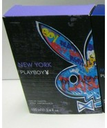 PLAYBOY New York Eau De Toilette Spray 1.7 Oz / 50 Ml by COTY - $10.59