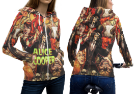 Alice Cooper Full over Print Zipper Hoodie for Women - $28.79+