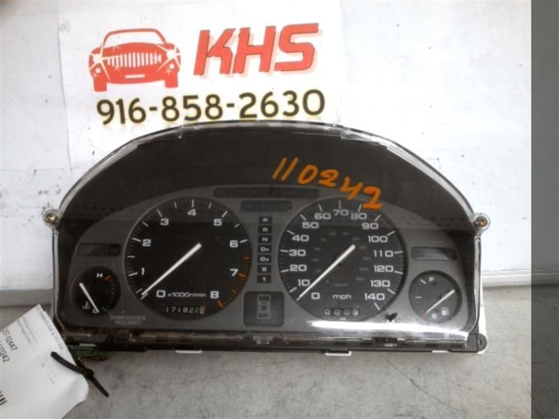 Primary image for Speedometer Cluster Sedan 4 Door L Model Fits 93-95 LEGEND 144817