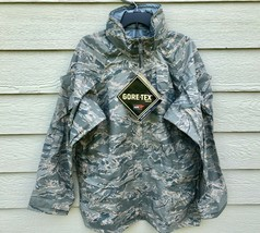 NWT GENUINE USAF APECS ABU GORE TEX TIGER STRIPE ALL PURPOSE PARKA - MED... - $123.75