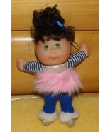 "Cabbage Patch Snow Magic 8"" Black-Hair Garden Fairie Pretty in Blue Silv... - $7.89"