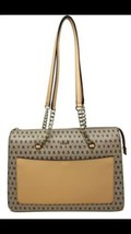 DKNY Bryant Signature Zip Tote Tan MSRP $248 - $208.00