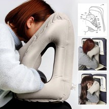 Outdoor Travel Smart Inflatable Air Cushion Neck Support Pillow - $37.00