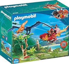 PLAYMOBIL® Adventure Copter with Pterodactyl Building Set - $32.16