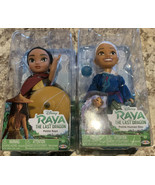 Disney's Raya and The Last Dragon Petite Raya AND Petite Human Sisu Bran... - $28.13