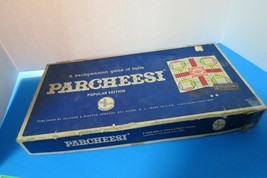 1964 Parcheesi Board Game Popular Edition Selchow & Righter Complete USA... - £17.99 GBP