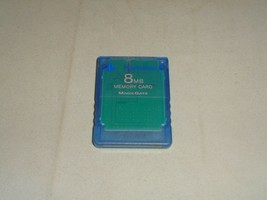 8MB Playstation 2 Memory Card - $8.49 CAD