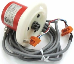 IED ENCODER C2R-240/16, SUPPLY: 5-30 VDC W/ MOUNTING FLANGE *FOR PARTS*