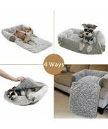 Pet Dog Bed Cushion Soft Velvet Dog Beds Pad Mat Warm Kennel Dogs  - $64.51+