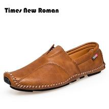 Loafers Soft Leather New Men Moccasins Sh Quality Style Roman Times High Fashion wH1RqR0g
