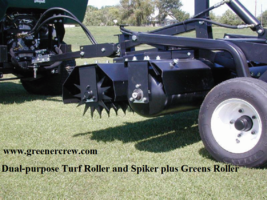 Turf Roller Greens Roller and Turf Spiker Dual Purpose  - $4,775.00