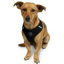 Pet Control Harness Medium Cat Dog Soft Black Mesh Walk Collar Safe Strap Vest - $17.00