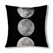 "InterestPrint? Phases of the Moon Throw Pillow Cover 18""x 18""(Twin Sides) - $13.99"
