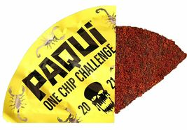 PAQUI 2021 ONE CHIP CHALLENGE THE CAROLINA REAPER + SCORPION PEPPER - NEW!!! image 3