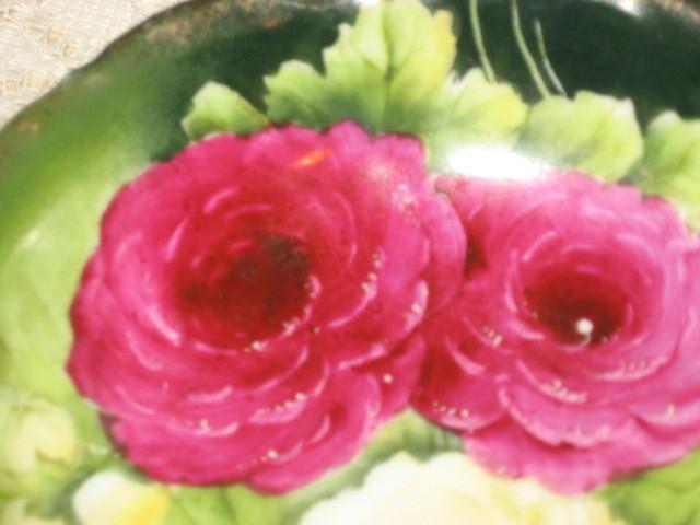PT Bavaria Rose Transfer Design Dessert Bowl-Tirschenreuth,Germany