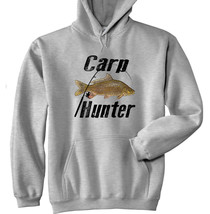 Carp Hunter - New Cotton Grey Hoodie - $31.88