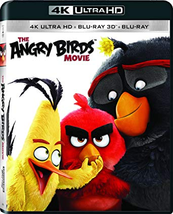 The Angry Birds Movie [4K Ultra HD + 3D + Blu-ray]