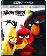 The Angry Birds Movie [4K Ultra HD + 3D + Blu-ray] - $15.95