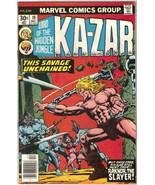 Ka-Zar Lord of the Hidden Jungle Comic Book #19 Marvel Comics 1976 VERY ... - $2.25