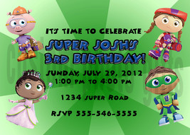 Super why invitation thumb200
