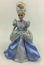 "Cinderella Disney Princess Brass Key 10"" Porcelain Doll with Stand Dress... - $22.23"
