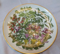 Franklin Mint Royal Horticultural Society Flowers of the Year plate Febr... - $20.00