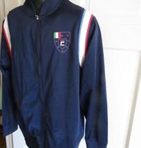 Men's Vintage FILA Warm Up Soccer Track Zip Jacket Sz L - $24.75