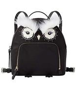 Kate Spade New York Star Bright Owl Tomi Backpack (Black Nylon WKRU5690) - $199.00