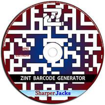 Nuovo & Nave Veloce! Zint Codice a Barre Generatore Qr Creatore Software... - $11.70