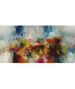 Red Awakening Painting by Leonidas Zavaleta - $900.00+