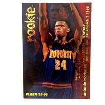 Antonio McDyess 1995-96 Fleer Rookie Card #298 NBA Denver Nuggets - $1.93