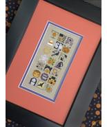 Halloween Jumble cross stitch chart Drawn Thread - $9.00