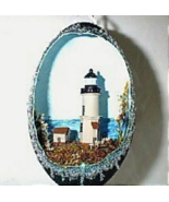 Decorated Emu Egg Nobska Point Lighthouse Colle... - $125.00