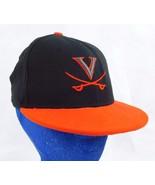 University of Virginia Cavaliers New Era 5950 Black Baseball Cap Hat 6 3... - $11.99