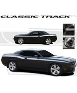 Dodge Challenger CLASSIC TRACK Stripes 3M Decals 08 09 10 11 - $158.00