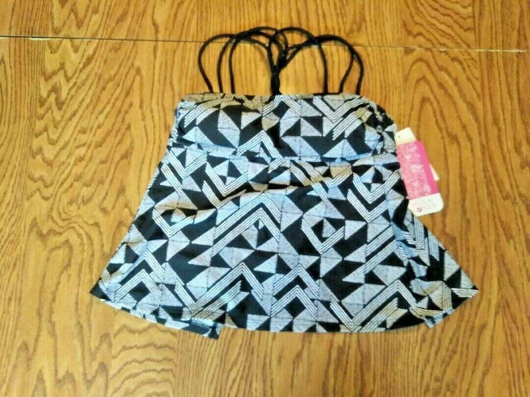 Hula Honey Multi Color Swim Wear Top Size XS