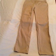 Justice pants Girls Size 16 simply low straight khaki uniform pants - $15.99