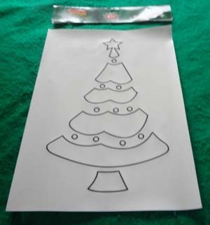 "Reusable sticky Stencils for Spray Snow - Christmas Scenes - Holiday 4pc 10*14"""