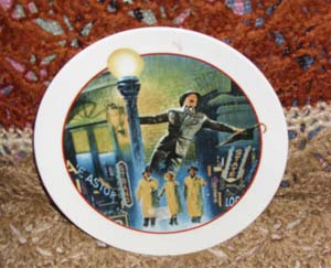 Singin In The Rain (Images of Hollywood) Avon Collectible Plate 1986
