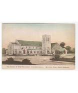 Church Congregational Southern Pines North Carolina hand colored postcard - $6.44