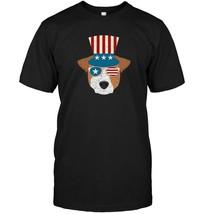 Patriotic Jack Russell T Shirt Dog Owner Gift Men Women - $17.99+