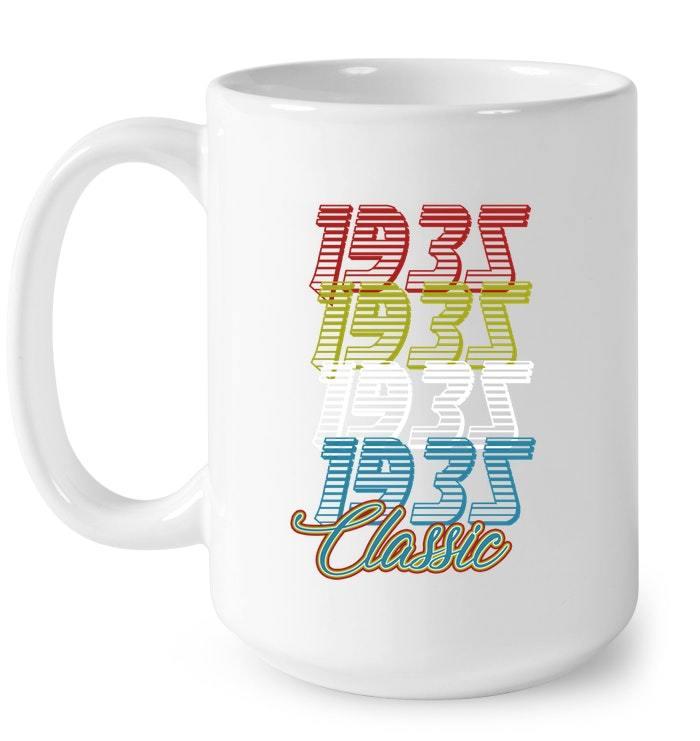 1935 Classic 83rd Birthday Vintage Gift Coffee Mug