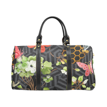 Garden Pattern Gucci Style Large Travel Bag Custom Handmade Women's Men'... - $172.20 CAD
