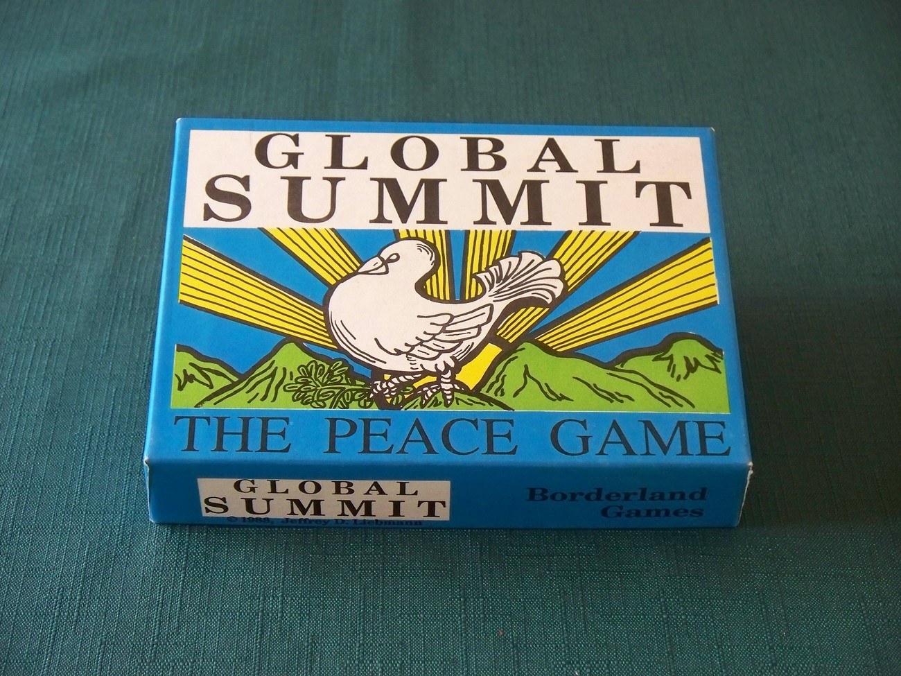 Primary image for Global Summit: The Peace Game Borderland Games 1988 VGC