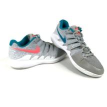Nike Air Zoom Vapor X HC Womens 8.5 Tennis Shoes Wolf Grey Lava AA8027-064 - £26.66 GBP