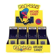 Pac-Man Game Video Arcade Candy in Shaped Embossed Metal Tin NEW SEALED - $6.89