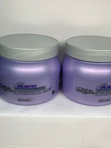 2x L'Oreal Professional Liss Unlimited Masque, 16.9 fl. oz. - $74.24